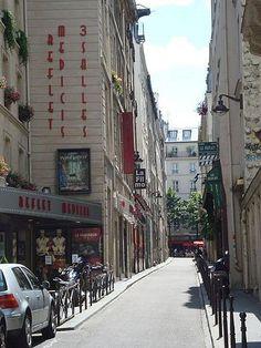 rue Champollion - Paris 5ème