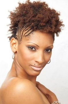 Phenomenal Mohawk Hairstyles Hairstyles For Black Women And Mohawks On Pinterest Hairstyles For Men Maxibearus