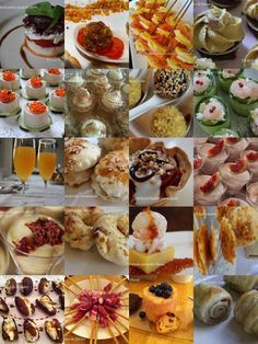 Canapés y otr Fall Recipes, Sweet Recipes, Aperitivos Finger Food, Cooking Time, Cooking Recipes, Food Decoration, Quiches, Appetizers For Party, Finger Foods