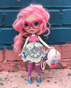 DOLL soldOOAK Custom blythe doll Raspberries by DaryaJavnerikDolls