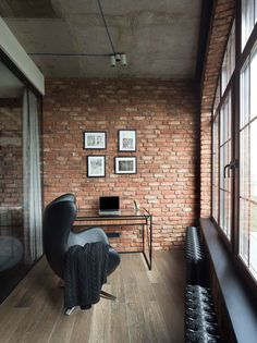 Modern Industrial Loft Apartment in Ukraine