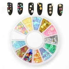 $0.99 Find More Rhinestones & Decorations Information about About 60Pcs Micro…
