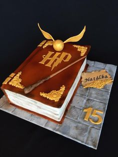 Harry Potter book cake by Layla A