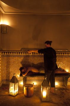Traditional Hammam Treatment done individually, with relaxation and revitalisation in Mind.