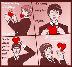 birthday card beatles - Google Search