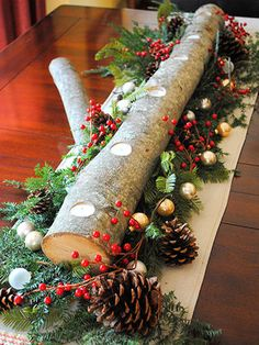 Nature Inspired Holiday Decor