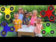 Fidget Spinner Challenge! Спиннер Челлендж! АМИНКА ВИТАМИНКА против BOYS&TOYS Fidget spinner battle - YouTube
