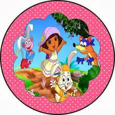 Olá amigas!   Hoje vamos postar um kit da Dora Aventureira e dois passo a passo: da mochila da Dora feita com material reciclável, usando ca...