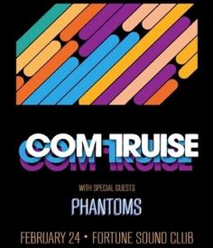 Timbre Concerts presents Com Truise With Special Guests Phantoms (LA) FEB 24 FORTUNE SOUND CLUB Electronic Music, Special Guest, Concerts, Dj, Presents, Club, Gifts, Favors, Gift