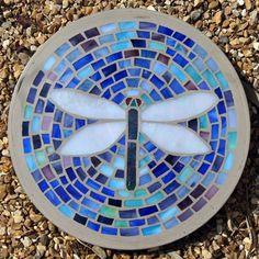 Free Patterns Mosaic Stepping Stones   stepping stones   ... by Curvaceous. Dragonfly Mosaic Stepping Stone ...