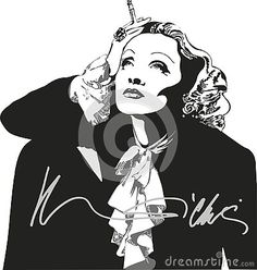 german-american-motion-picture-actress-whose-beauty-voice-aura-sophistication-languid-sensuality-made-her-one-world-s-most-glamorous-film-stars First World, German, Glamour, Actresses, Stars, Film, American, Illustration, Fictional Characters