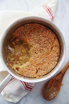 Thomas Keller's Apple & Butterscotch Cobbler with Pecan Streusel | Williams-Sonoma Taste