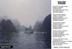 Viajar, by Gabriel García Márquez