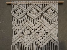 "Image of Macrame wall hanging ""Edna"""