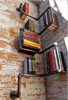 Industrial Urban Style Galvanised Steel Pipe Shelf Storage Shelving #Unbranded #VintageRetro