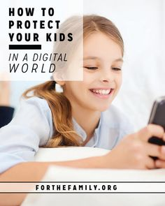 Are your kids safe online? Get to know these new basics for keeping your kids safe in a digital world. We're taking you step by step through what you can do to set up your devices. Don't miss these practical tips!