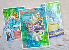 mixedmedia cards