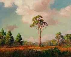 "Florida Fine Art Blog: ARTIST SPOTLIGHT -- A. E. ""Beanie"" Backus -- by Florida Fine Art Blog"