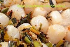Noix de Saint-Jacques sur plancha, simplicité et raffinement. Saint Jacques, Calories, Potato Salad, Potatoes, Ethnic Recipes, Mille, Food, Planks, Easy Cooking