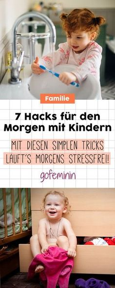 7 geniale Hacks für Mamas und Papas: So wird der Morgen mit Kindern stressfrei!