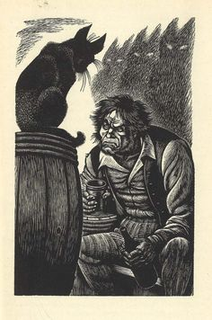 Fritz Eichenberg Illustrations to the Tales of Poe, 1944