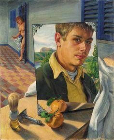 Paul Cadmus,  Self Portrait, Mallorca, c. 1930 by kraftgenie, via Flickr