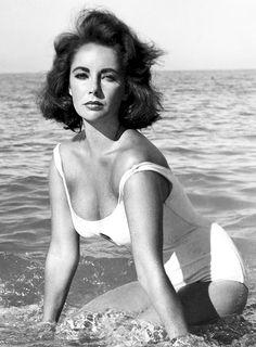 Elizabeth Taylor in Suddenly, Last Summer. Photo: Burt Glinn, 1959.