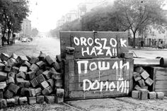 """""Russians go home!"" The Hungarian Revolution - Budapest 1956 "" World Conflicts, Budapest Hungary, Old Photos, Around The Worlds, Retro, Pictures, Revolutions, Communism, Cold War"