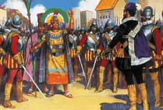 """Pizarro spurned the friendship of the King of the Incas"""""""