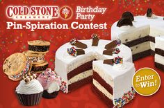 Starting August 19, through September 16, Cold Stone Creamery® is giving away…