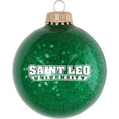 Product: Saint Leo University Sparkle Ornament Ball