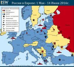 Карта точек напряженности между Россией и НАТО в Европе. ИНФОГРАФИКА http://dneprcity.net/blogosfera/karta-tochek-napryazhennosti-mezhdu-rossiej-i-nato-v-evrope-infografika/  На фоне продолжения боевых действий в Украине и нерешенных разногласий между Россией и США по вопросу оказания поддержки противоположным сторонам в сирийской гражданской войне, отношения между Москвой и НАТО накаляются