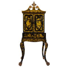 I would commit murder for this antique Chinese Export Secretary.  It even has secret compartments!