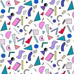 popular sizes - illustration by yoko honda Graphic Patterns, Cool Patterns, Textile Patterns, Textile Design, Print Patterns, Pattern Designs, Pattern Illustration, Graphic Illustration, 90s Pattern