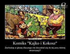 """Komiks """"Kajko i Kokosz"""" – Niezły materiał na bardzo dobry przygodowy film? Comic Books, Memories, Film, Cover, Art, Memoirs, Movie, Art Background, Souvenirs"""