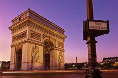 Arc De Triomphe At Dawn / Paris Print by Barry O Carroll France Photos, Paris Photos, Gaulle, Unknown Soldier, France Photography, I Love Paris, Paris City, The World's Greatest, Paris France