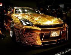金ピカGT-R R35GT-R Gold Metal Paint customized by KuhL Racing #GTR #R35