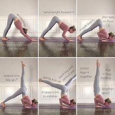 Ashtanga Yoga, Yoga Bewegungen, Yoga Handstand, Yoga Flow, Yoga Meditation, Gymnastics Handstand, Kundalini Yoga, Pranayama, Yoga Inspiration