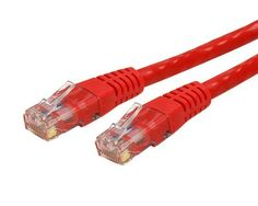 QualConnectTM Cat6a Orange Ethernet Patch Cable Snagless//Molded Boot 100 ft 500 MHz
