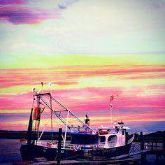St. Simon's Island, Georgia sunset. [Photo Credit: @darko13, Instagram]