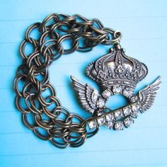 $29.00 CELEBRATE THE NEW PRINCE!!  ROYAL BRACELET by MimiJewels on Etsy http://www.etsy.com/listing/154438840/royal-bracelet-ooak?ref=shop_home_active