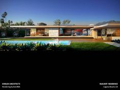 Ehrlich Architects: McElroy Residence, Laguna Beach, CA.