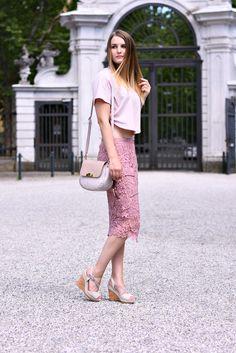4 Stylez 4u: Ton in Ton Ein Ton in Ton Outfit in Rosé gehalten. Perfekt für warme Sommertage.