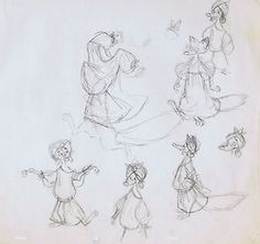 """""""Robin Hood"""" by Milt Kahl* 