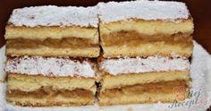 Výborný a hlavně šťavnatý jablečný koláč podle receptu od mé babky. Teď jsem už babička já a velmi ráda peču pro svá vnoučata tyto i mnou oblíbené koláče, které si pamatuji z dětství. Autor: Blažena Czech Recipes, Ethnic Recipes, New Cake, Apple Pie, Vanilla Cake, Tiramisu, Ham, Nom Nom, Cake Recipes