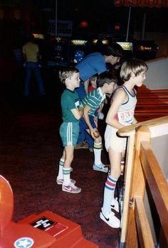 80s Video Game Arcades