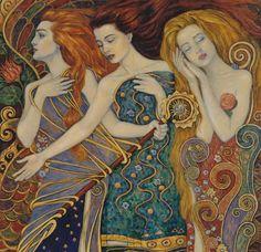 Faith, Hope, Love ~ by Irina Karkabi