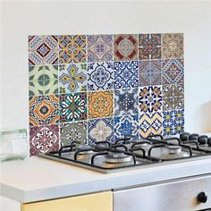 Azulejos Kitchen Panels - Home Décor Line Wall Decals