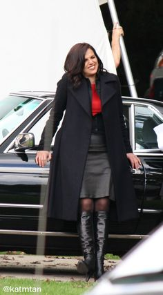 Lana Parrilla. Ouat bts S6, July 2016