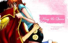 Luffy x Nami #luna #one piece